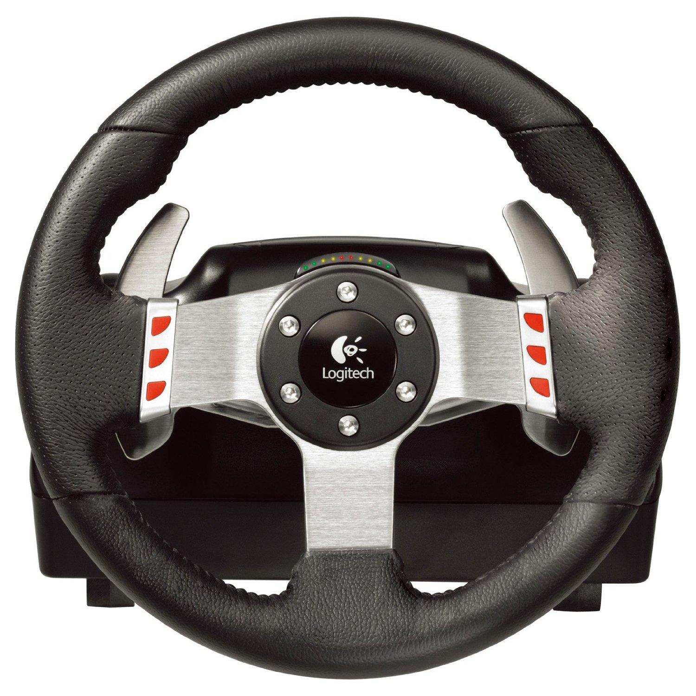 logitech g27 racing wheel review test. Black Bedroom Furniture Sets. Home Design Ideas